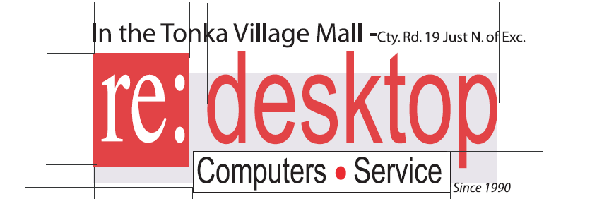 Re:Desktop    952-401-9577 Sales & Service PC's and Macs
